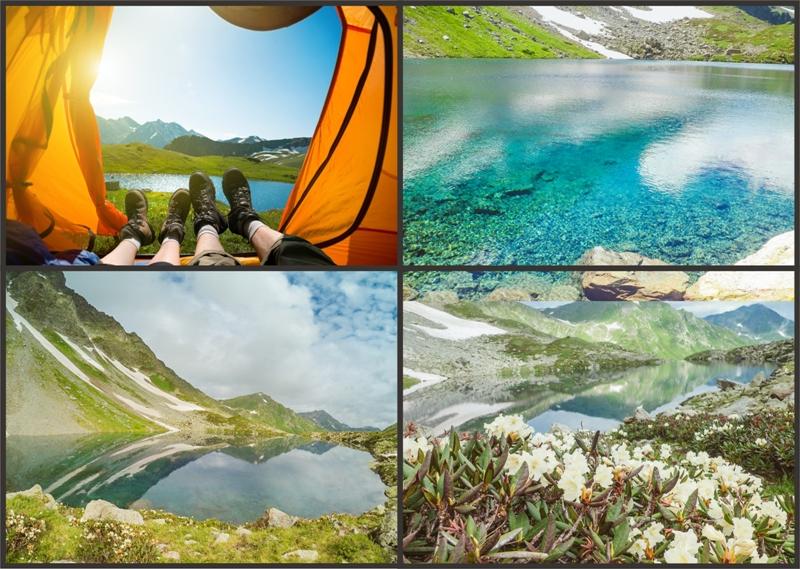 пешеходный тур Архыз озеро семицветное 5